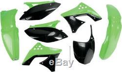 14030517 kit de cuerpo completo Kawasaki kxf250 OEM color KAWASAKI KX F UFO