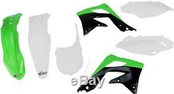 14031117 kit de cuerpo completo Kawasaki kxf450 OEM color KAWASAKI KX F UFO