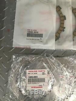 2004-2019 KAWASAKI KX250F OEM CLUTCH Plate KIT KX 250F 13088-0018 13089-0005 KXF