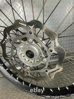 2006-2018 Kawasaki Kx250f Oem Front Wheelexcel A60 Kx450f Kxf250 Kxf450