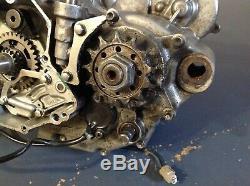 2009 09 Kawasaki KX450F KXF450 450 KX bottom end motor engine gears case OEM