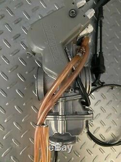 2009 Kawasaki KX250F OEM Carburetor FCR 37mm Keihen KX 250F KXF 250 04-10