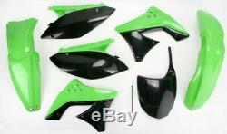 2009 kawasaki kx250f UFO Plastics PLST KIT KXF250 OEM KAKIT212-999