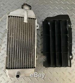 2017-2019 Kawasaki KX250F Right Radiator 39061-0722 OEM KXF250 KX 250F Coolant
