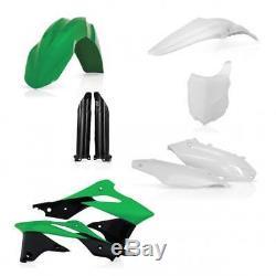 Acerbis Full Motocross MX Bike Plastics Kit Kawasaki KXF250 2013 OEM'14
