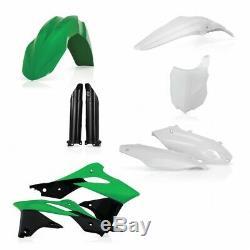 Acerbis Full Plastics Kit Oem Colours Kawasaki Kx250f Kxf250 2013 2016