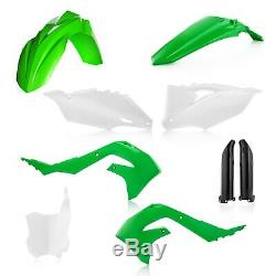 Acerbis Kawasaki Full Plastic Kit OEM Green White KXF 450 2019 2020
