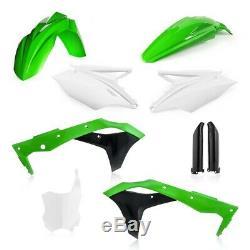 Acerbis MX Full Plastics Kit Kawasaki KXF250 17-19 OEM Green/White/Black