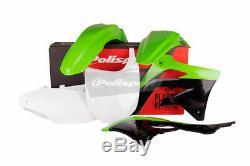 Body kit kxf450 2012 oem KAWASAKI KX F Polisport