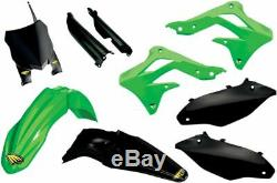 Cycra Powerflow Complete Plastikkit Kawasaki Kxf 250 13-16 Oem