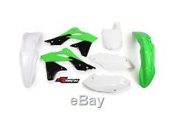 Fits Kawasaki KX250F 2013 2014 2015 2016 Plastic Kit Plastics KXF-OEM-516