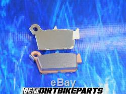 Genuine Brake Pad Nissin OEM Kawasaki Rear Caliper Stock Kx 250 F kxf 450