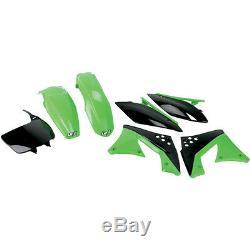 Jeu en Plastique Kit Incl. Panneau à Nombres OEM Kawasaki Kxf Kx-F 250 2010-2011
