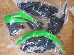 Jeu en plastique Kit incl. PANNEAU à nombres KAWASAKI KXF 250 KX-F OEM 2013