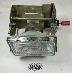 KAWASAKI Tecate 4 (KXF 250) OEM Front pop up head light lamp with mount assembly