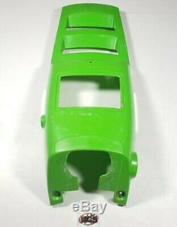 KAWASAKI Tecate 4 (KXF250) OEM Front center hood plastic cover (GREEN) 87 88