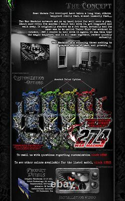 Kawasaki 2004-2018 Kxf250 War Machine Graphics Wrap Decal Fits Oem Part Kx250f