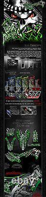 Kawasaki 2006-2018 Kxf450 War Machine Graphics Wrap Decal Kit Fits Oem Parts