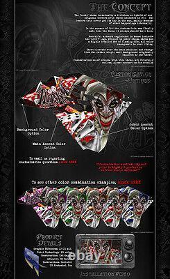 Kawasaki 2006-2019 KXF450 Fortuna Grafica Avvolgere Calcomania Kit Per OEM Parti