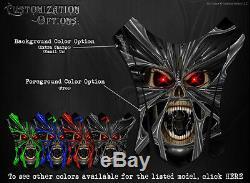 Kawasaki 2009-2012 KX250F KXF250 Grafik Set Zoll die Demons Within für OEM