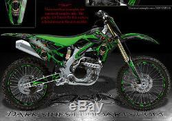 Kawasaki 2009-2012 KX250F KXF250 Graphisme Kit les Démons en pour OEM