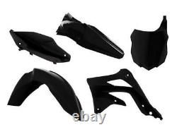 Kawasaki KX 450 F / KXF 450 2013 2015 OEM Racetech Plastic Kit BLACK