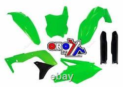 Kawasaki KX 450 F / KXF 450 2016 OEM Racetech Plastic Kit GREEN
