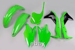 Kawasaki KXF 250 2018 2020 UFO Motocross Plastic Kit OEM Colour 2020