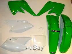 Kawasaki KXF250 04-05 PLASTIC KIT 2 Motox OEM UFO