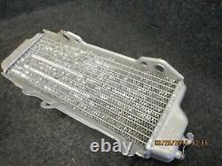Kawasaki KXF250 2010-2016 Used genuine oem left hand radiator KX2814