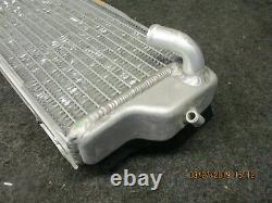Kawasaki KXF250 2010-2016 Used genuine oem left hand radiator KX2821