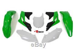 Kawasaki KXF250 2013 2014 2015 2016 Plastic Kit Plastics KXF-OEM-596