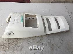 Kawasaki KXF250 KXF 250 TECATE 4 STOCK OEM White FRONT FENDER PLASTIC T4 87 88