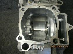Kawasaki KXF450 2016-2018 used genuine oem complete crankcase set KX3302