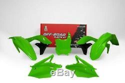Kawasaki Kxf250 2017-2019 Plastic Kits OEM, BLACK, GREEN, NEON GREEN, WHITE