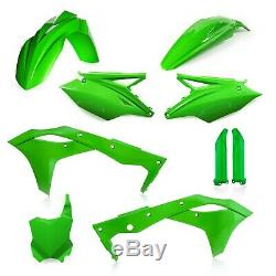 Kawasaki Kxf250 2020 Acerbis Full Plastic Kit Oem Green