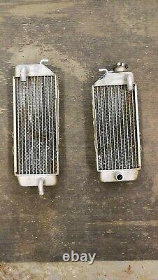 Kawasaki Kxf250 OEM Radiators (pair)