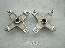 Kawasaki Kxf250 Tecate 4 Rear Oem Axle Hubs 4/156 Kfx Kxf 250 Clean Nice