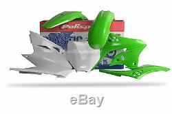Kawasaki Plastic Kit KXF 450 2006 2008 OEM Green 90114 Motocross Polisport