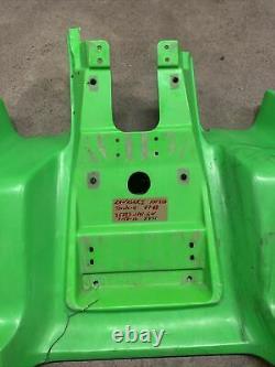 Kawasaki Tecate-4 1987 1988 Kxf250 Kxf 250 Rear Fenders Plastic Fairing Cowl Oem
