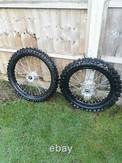 Kawasaki kx kxf 125 250 450 genuine oem wheels