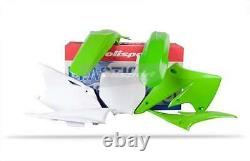 Kawasaki plastic Kit KXF 250 2004 2005 OEM Green 90091 motocross Polisport