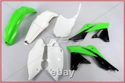 Kit Plastiche Complete Oem Ufo Kawasaki Kxf 250 2014 2016