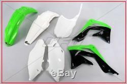 Kit Plastiche Complete Oem Ufo Kawasaki Kxf 450 2013 2015