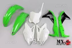Kit Plastiche Kawasaki Kxf 250 2017 Ufo Plast Kakit224999 Oem Originale