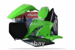New KXF 250 06 07 08 OEM Plastic Kit Motocross KXF250 Polisport Plastics