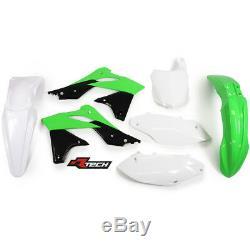 New KXF 250 13 14 15 16 OEM Plastic Kit Motocross KXF250 Racetech Plastics