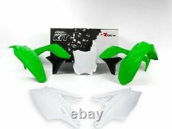 New KXF 450 16 17 18 Plastic Kit OEM Colour Motocross Plastics KXF450