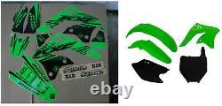 New Kawasaki KXF 250 06 07 08 FLU PTS5 Graphics Sticker Plastic Kit Plastics OEM