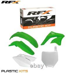 New RFX Plastic Kit Kawasaki OEM KXF 450 06 07 08 Motocross Enduro KXF450